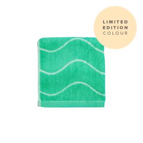 Limited Edition Bamboo Face Towel - Aqua