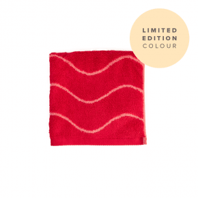 Limited Edition Bamboo Face Towel - Coral