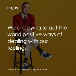 We are trying to get the world positive ways of dealing with our feelings.