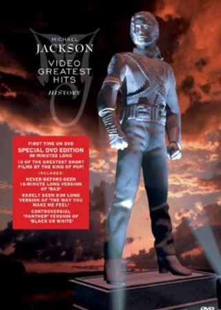 Michael Jackson - Video Greatest Hits - HIStory電影海報