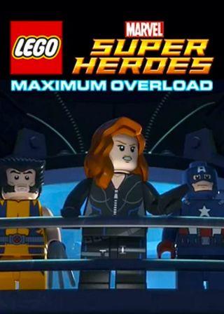 LEGO Marvel 超級英雄:極限超載電影海報