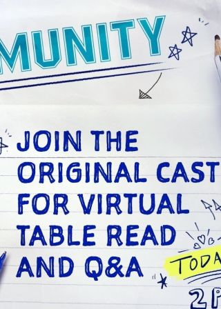Community Reunion Special - Virtual Table Read event電影海報