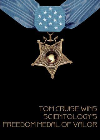 Tom Cruise Wins Scientology's Freedom Medal of Valor電影海報