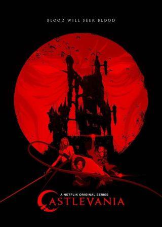 Castlevania電影海報