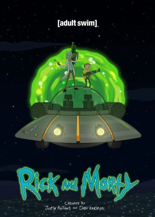 Rick and Morty電影海報