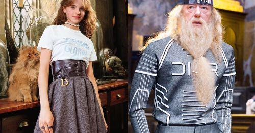 當《哈利波特》變成時尚大片!這個 IG 帳戶為所有角色都換上了 Dior 的衣服!