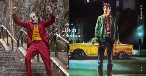 從社會底層晉升成大眾紅人,《小丑》與《計程車司機》殺出人性的醜陋與荒謬
