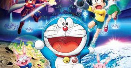 《多啦A夢: 大雄之月球探測記》再破2D票房紀錄