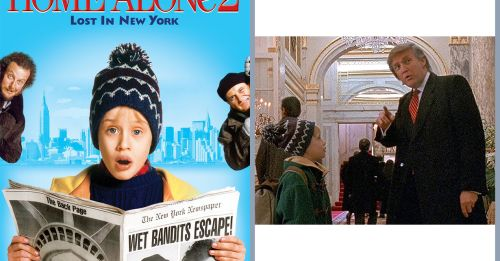 特朗普曾客串電影《Home Alone 2》,戲份卻被電視台刪走!