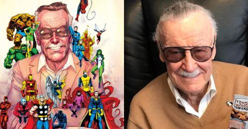 「超級英雄之父」史丹李逝世一週年 — 漫威獻上致敬畫作,讓人看了都鼻酸了啦!