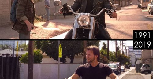 重遊電影《回到未來》、《未來戰士續集》等著名場景
