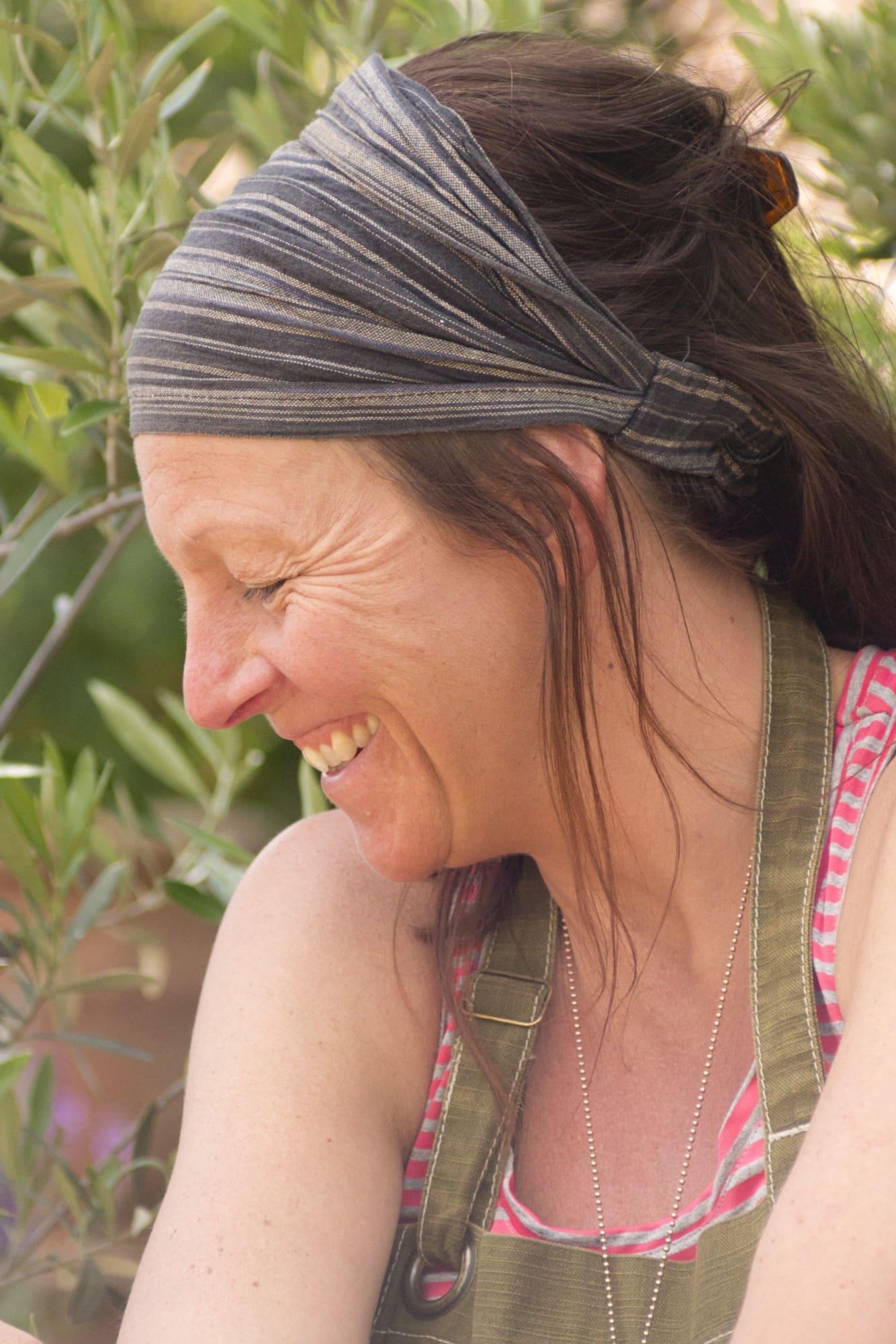 Maria Bremefors har förverkligat sin dröm om ett stycke Italien i Ljusdal.
