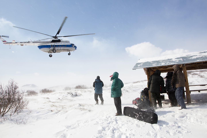 Räddingshelikoptern.