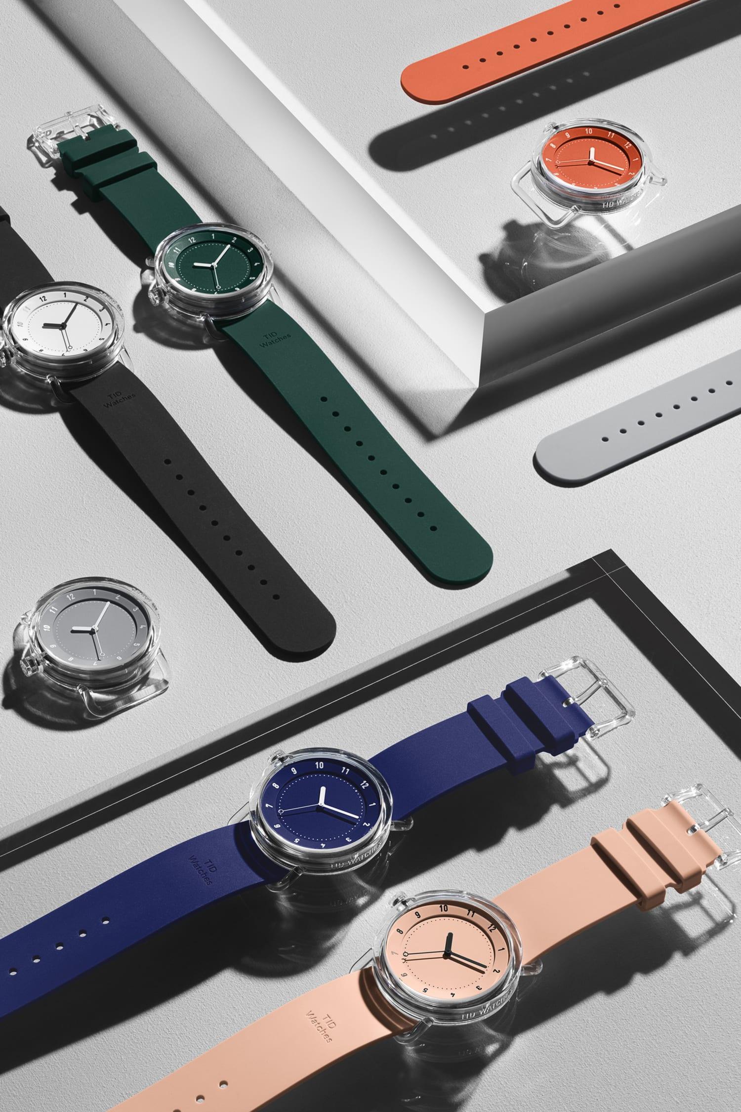 Tredje och rykande färska kollektionen från det egna klockmärket TID Watches.