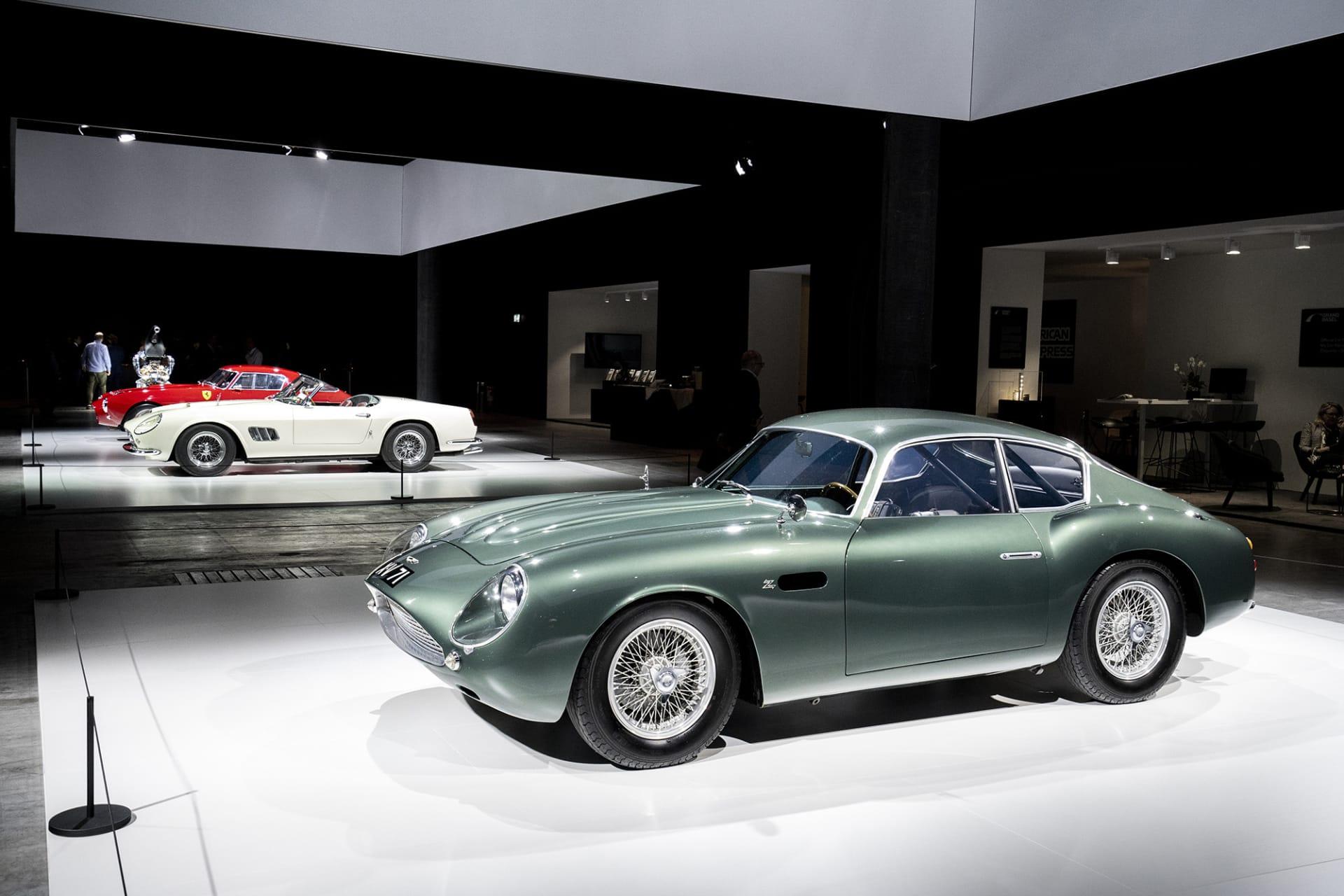 Designen bakom DB4 GT Zagato är Ercole Spada. Det här var hans första kreation och troligen mest kända. Bland Aston Martin samlare är det få modeller som skapar så mycket uppmärksamhet som den här. Avtäckningen skedde i samband med Londons Motorsalong 1960 i Earl's Court.