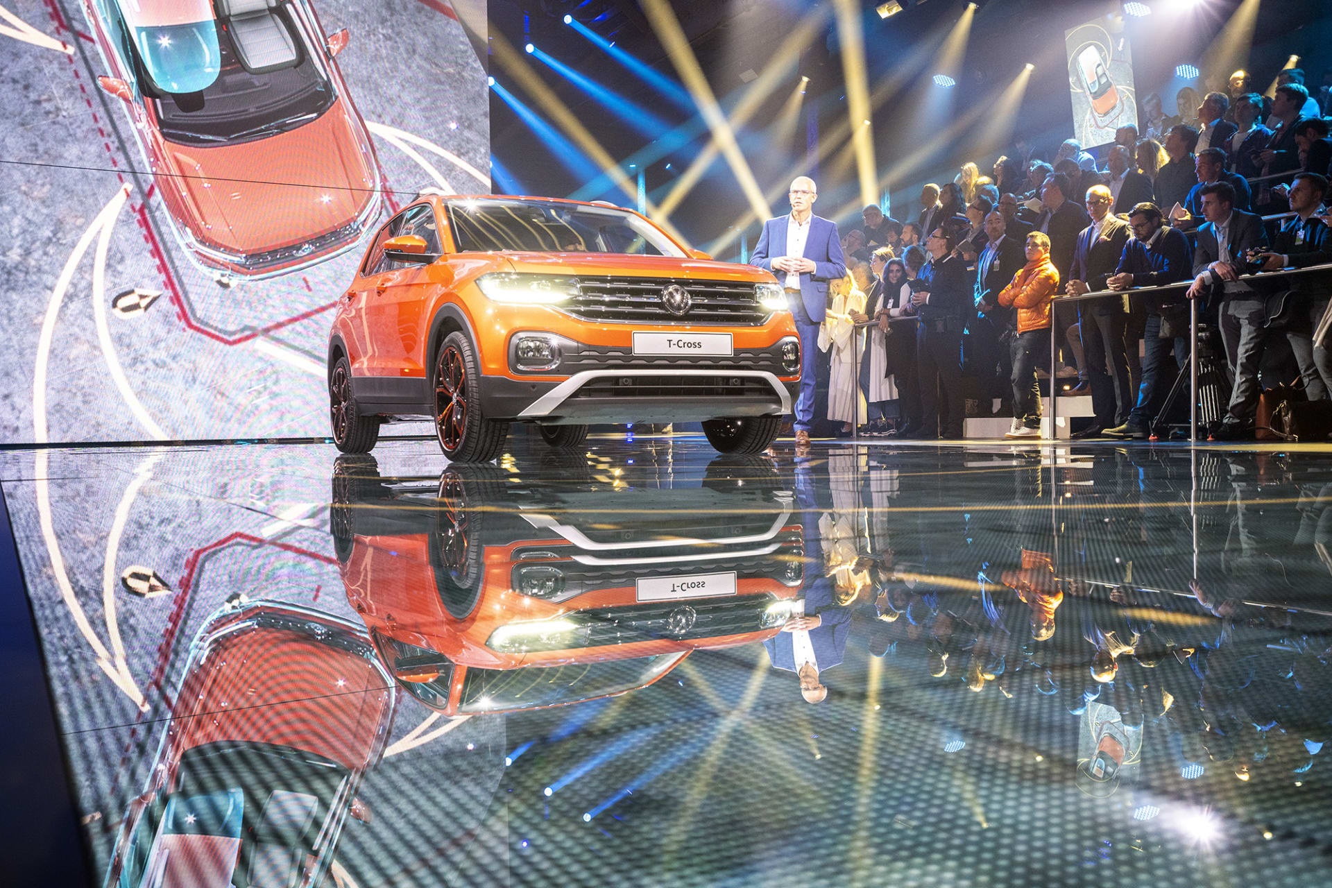 Med T-Cross tar Volkswagen ytterligare mark i SUV segmentet som man förutspår växa med det dubbla de kommande tio åren.