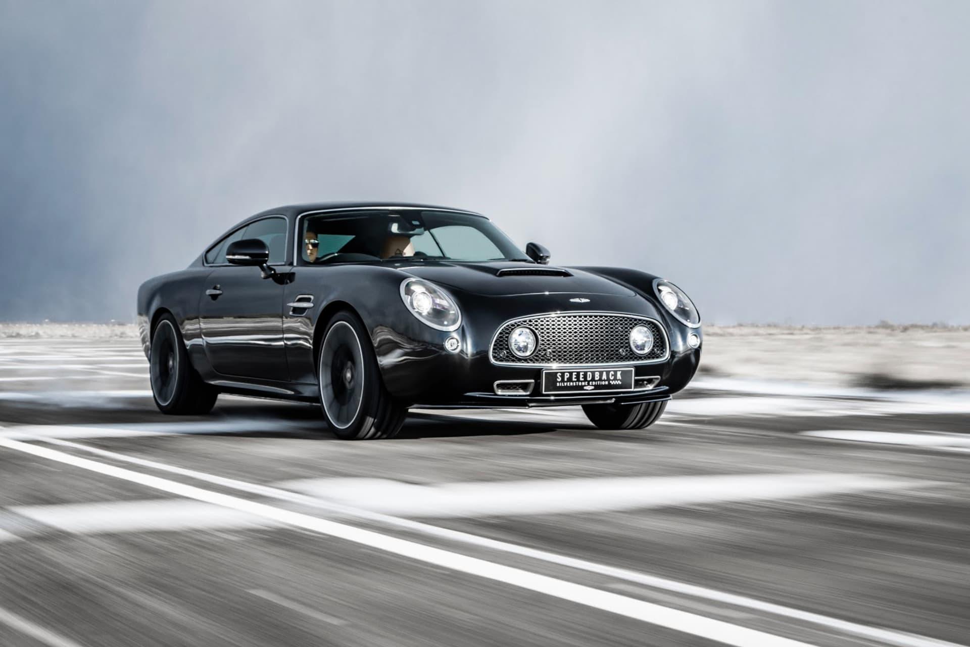 Om du har pengar i överflöd och gillar ny teknik fast med klassiska former är David Brown Automotive din grej. På mässan visade märket upp sin senaste modell Speedback GT i en specialversion med tillägget Silvertstone Edition.