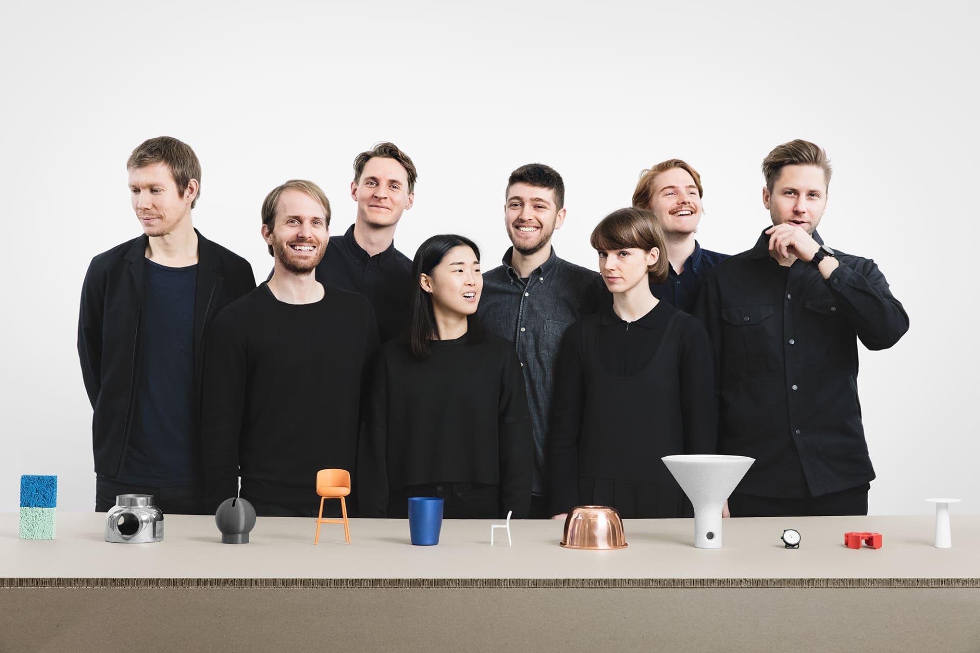 Studion Form Us With Love med grundarna John Löfgren till vänster och Jonas Pettersson till höger.