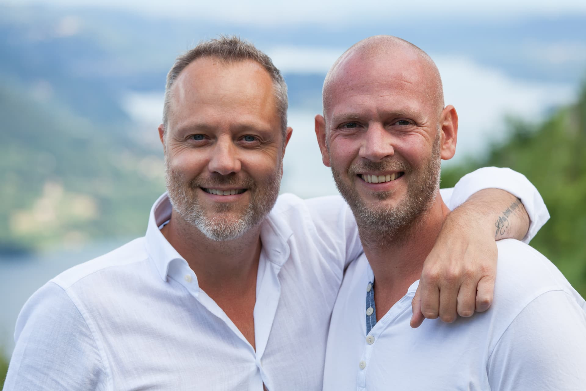 Wildrik Timmerman and Wouter Tavecchio founders of Mandali.