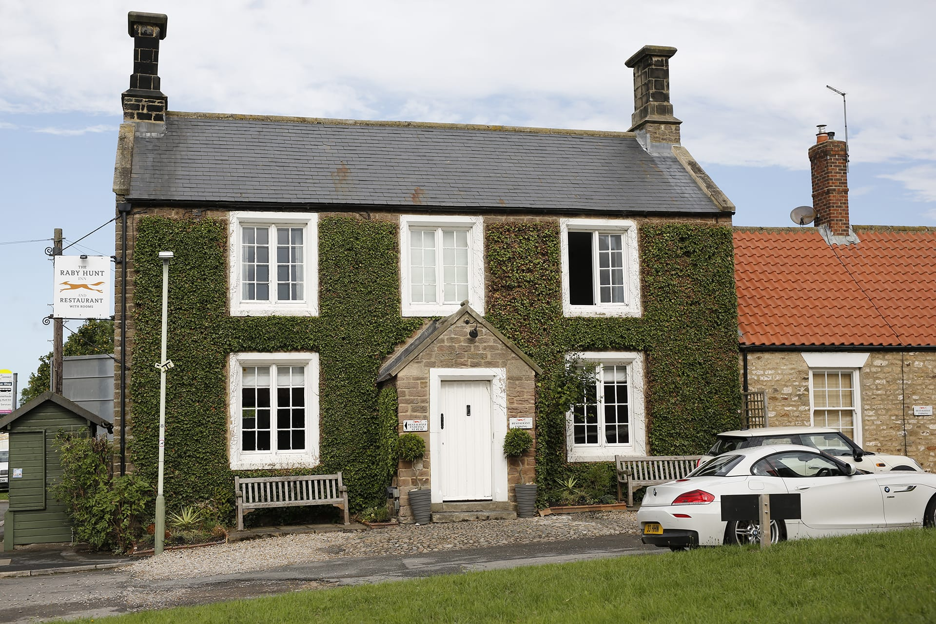 The Raby Hunt in Darlington, England, has two stars in Guide Michelin.