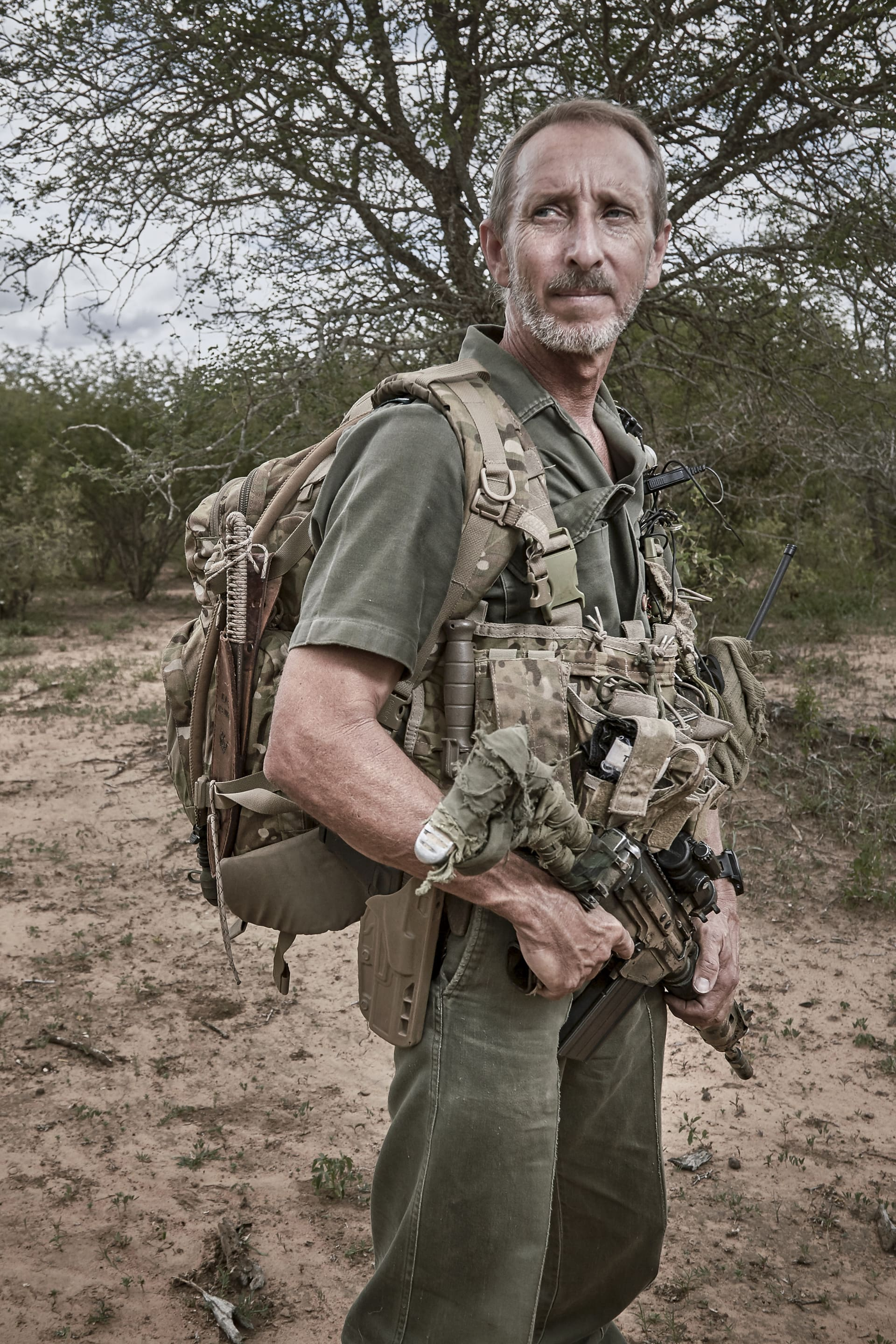 Special ranger - often in the bush for several days in isolation, tracking, observing and gathering intelligence.