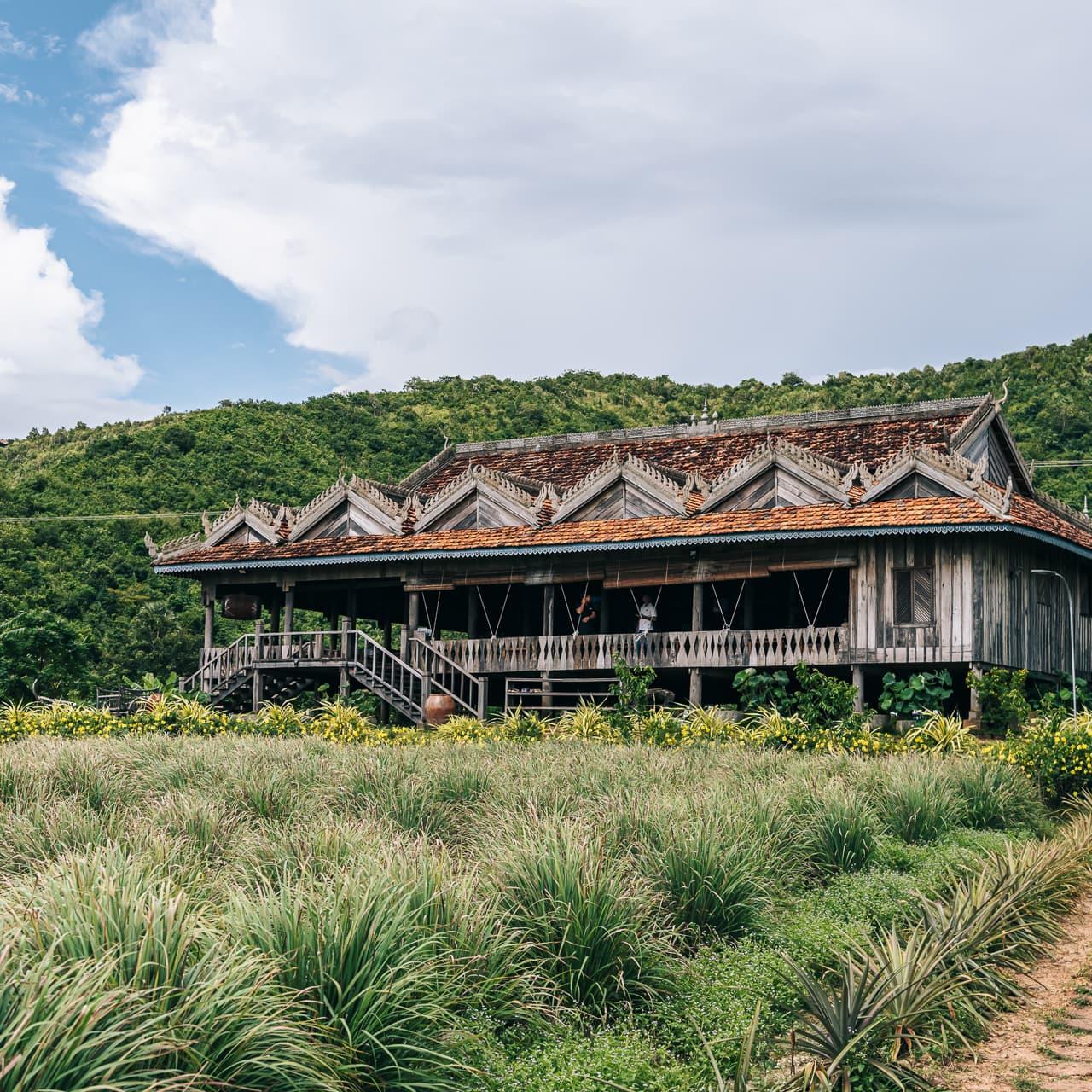 La Plantation pepper farm in Kampot, Cambodia.
