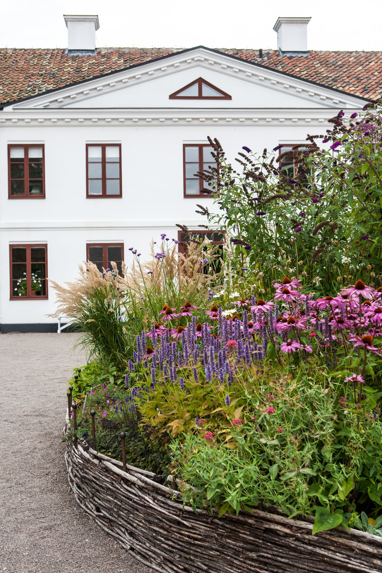 The manor house at Fredriksdal was originally built as a country estate.