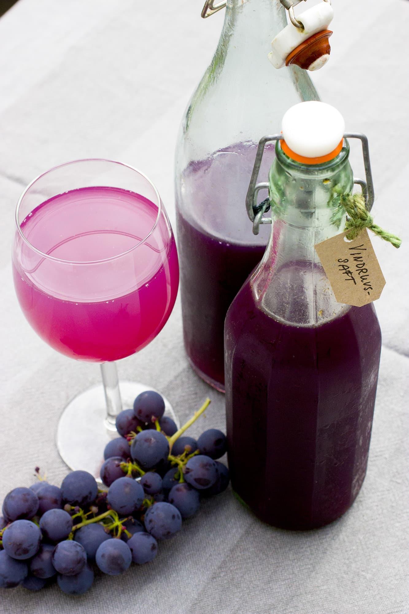Vindruvssaft funkar lika bra till barn som bilförare.