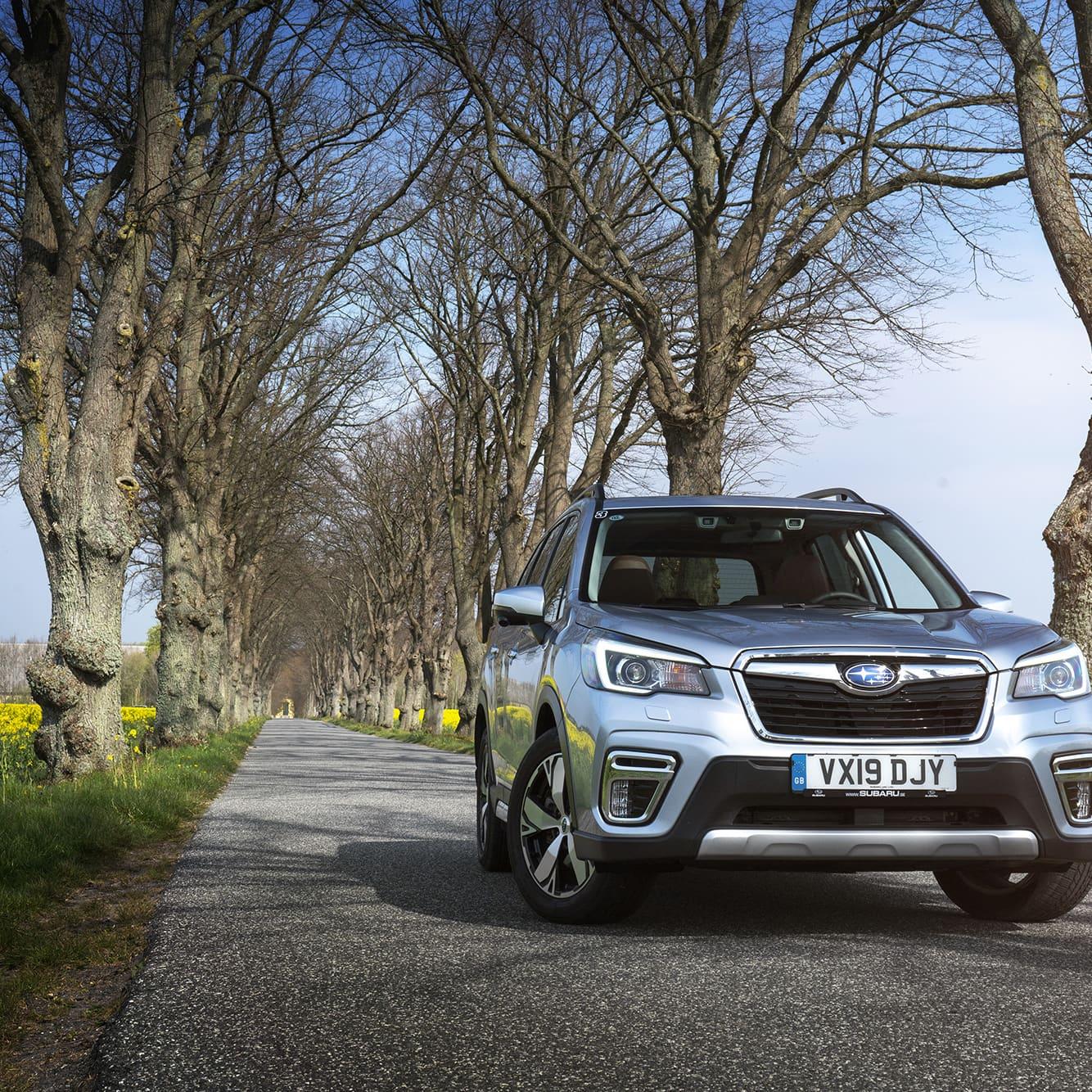 Nya Subaru Forester e-Boxer är relativt lik sin föregångare. På gott och ont kan man säga men det positiva är att Subaru hittat ett formspråk som gör dem enkla att känna igen från andra bilmärken.
