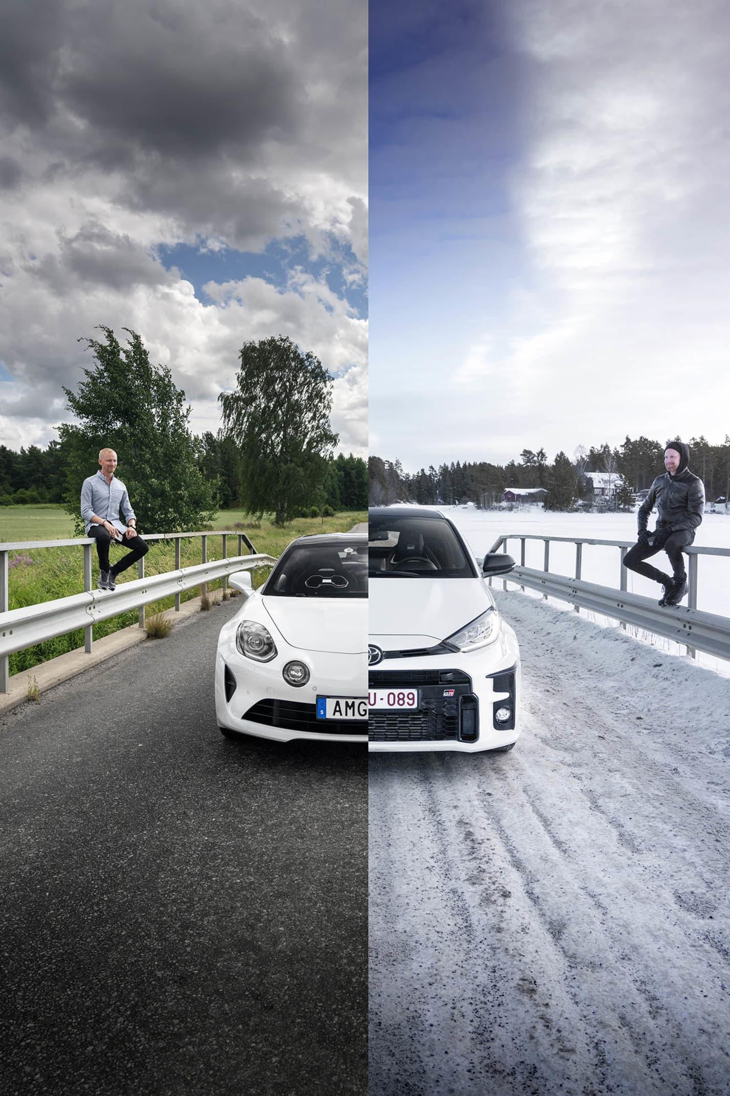 Om du har exakt 1 152 900 kr och vill ha en ofantligt rolig bil för sommaren och en för vintern. Då är Alpine A110 S och Toyota GR Yaris två givna kort utan konkurrens.