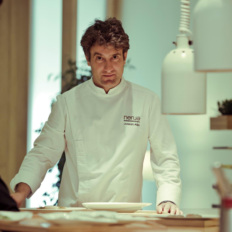 Josean Alija - the master of minimalist cuisine.