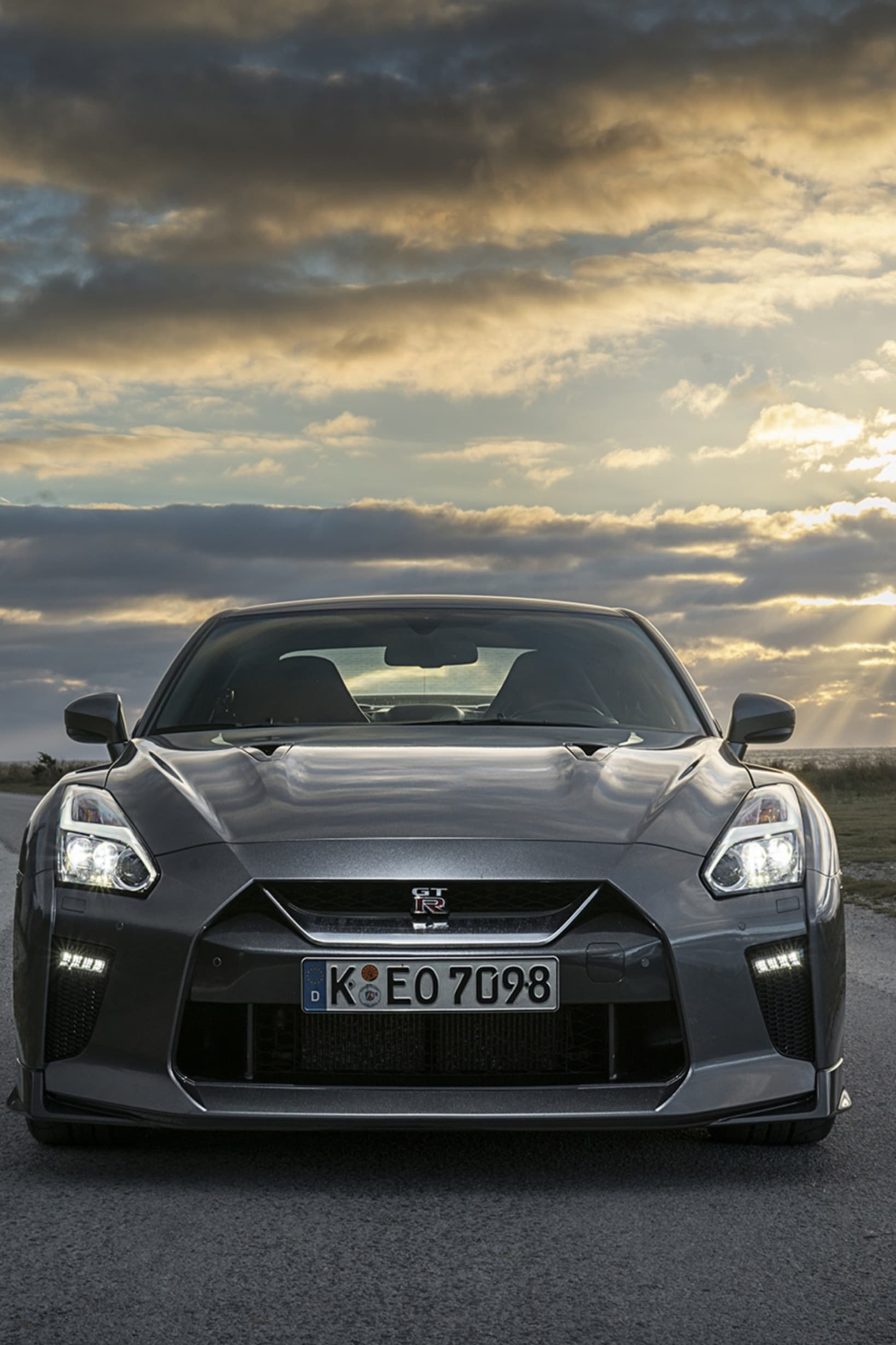 If you see this front of the rear view mirror, you might as well move over. A few cars can match the Nissan GT R when it comes to acceleration and speed.