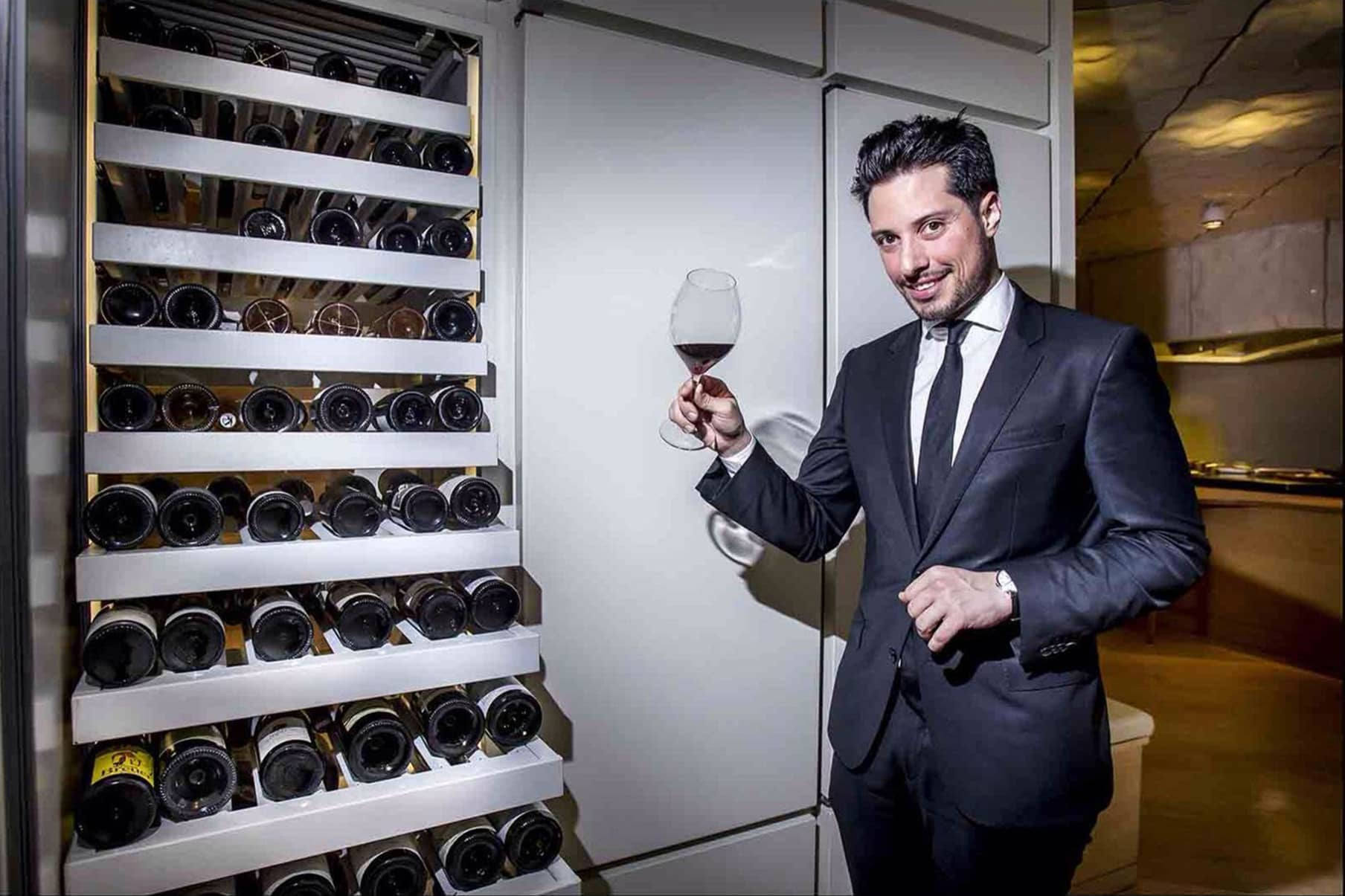 Ismael Álvarez is the head sommelier at Nerua in Bilbao.