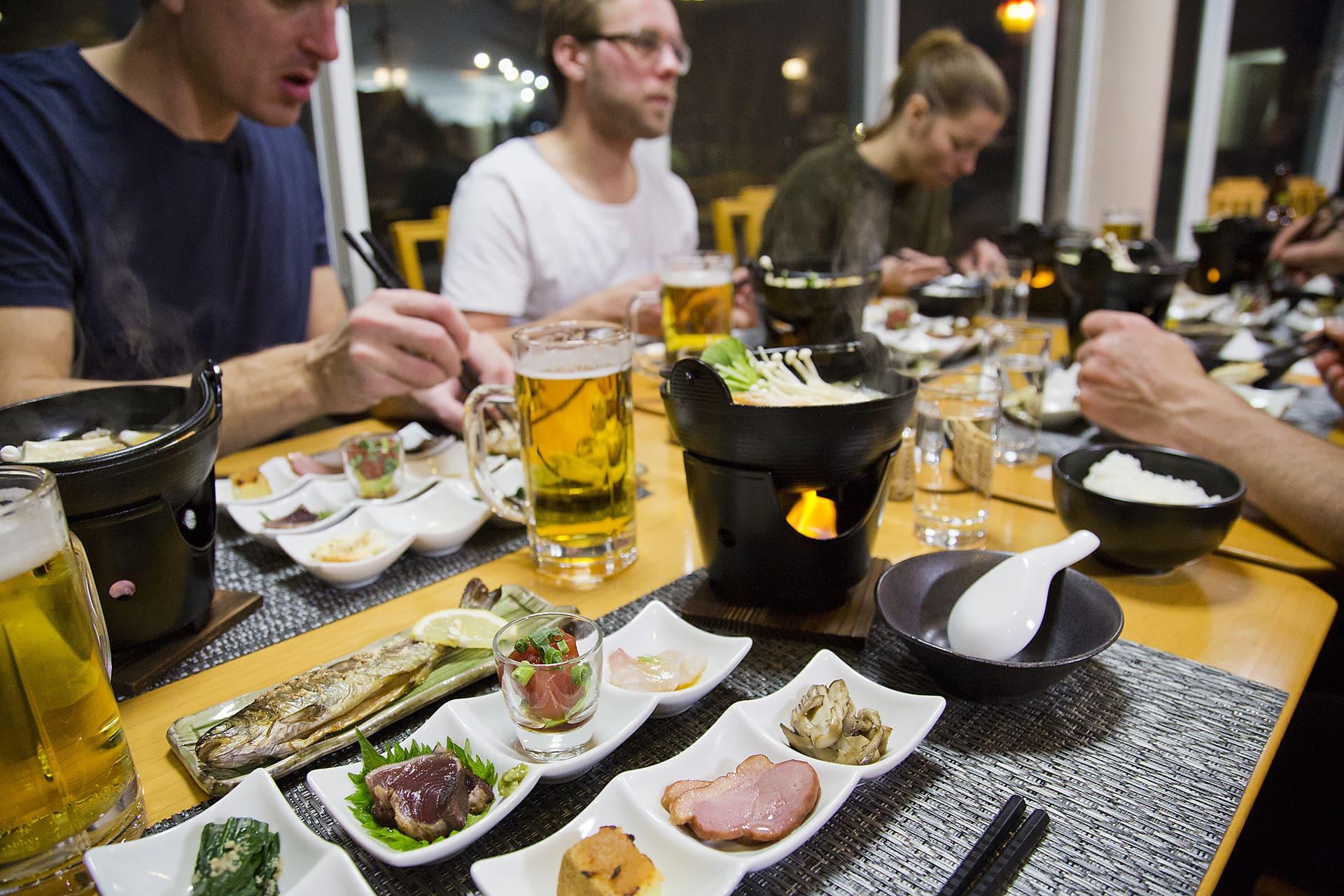 Japanese yummy food.