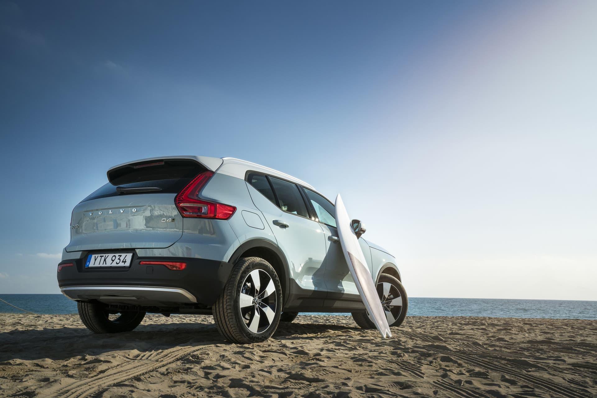 Att Volvo gärna vill förena ungdom och actionfylld livsstil i kombination med Volvo XC40 råder ingen tvekan om.