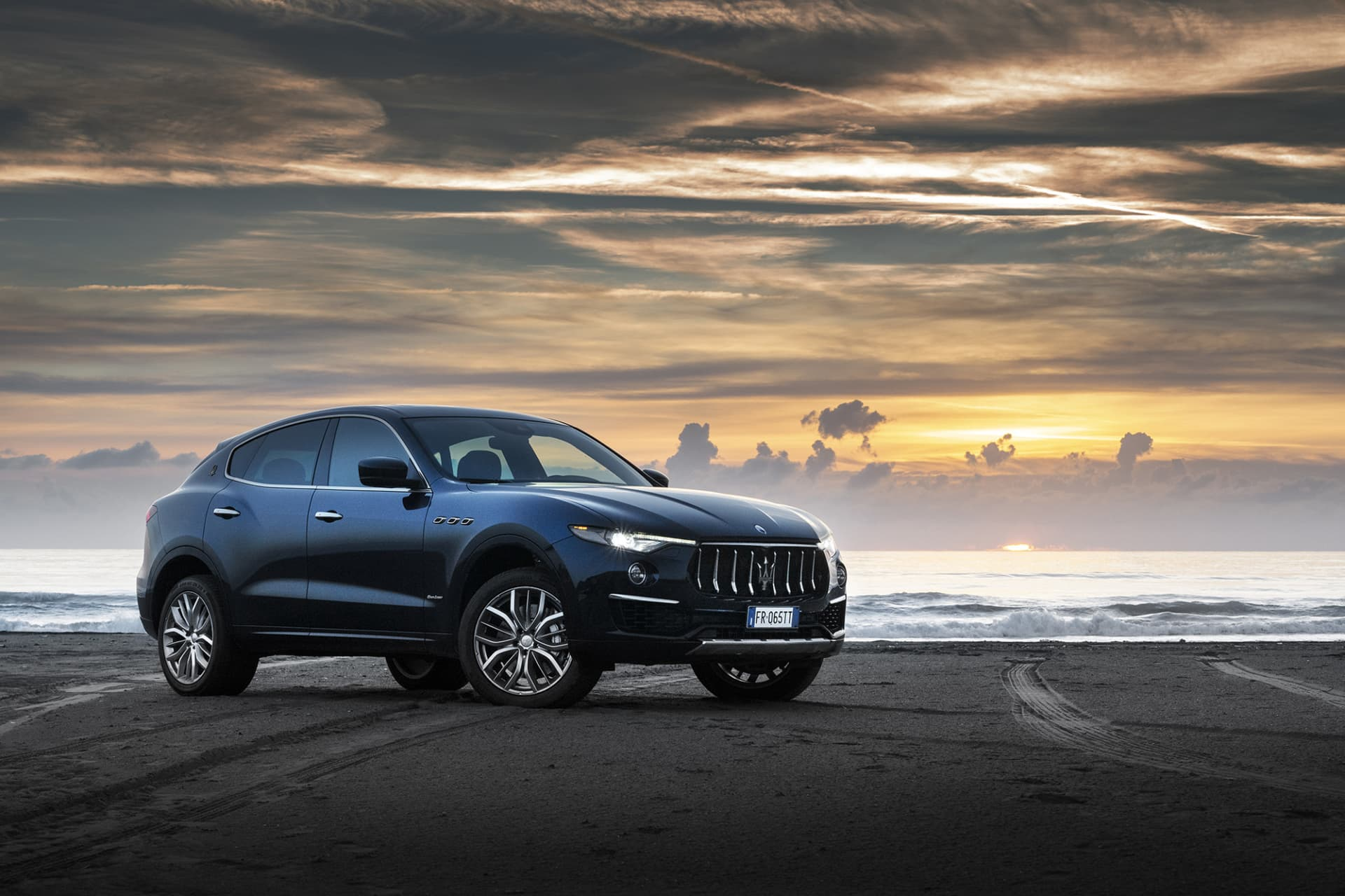 Levante S takes you from the mountains to the sea.