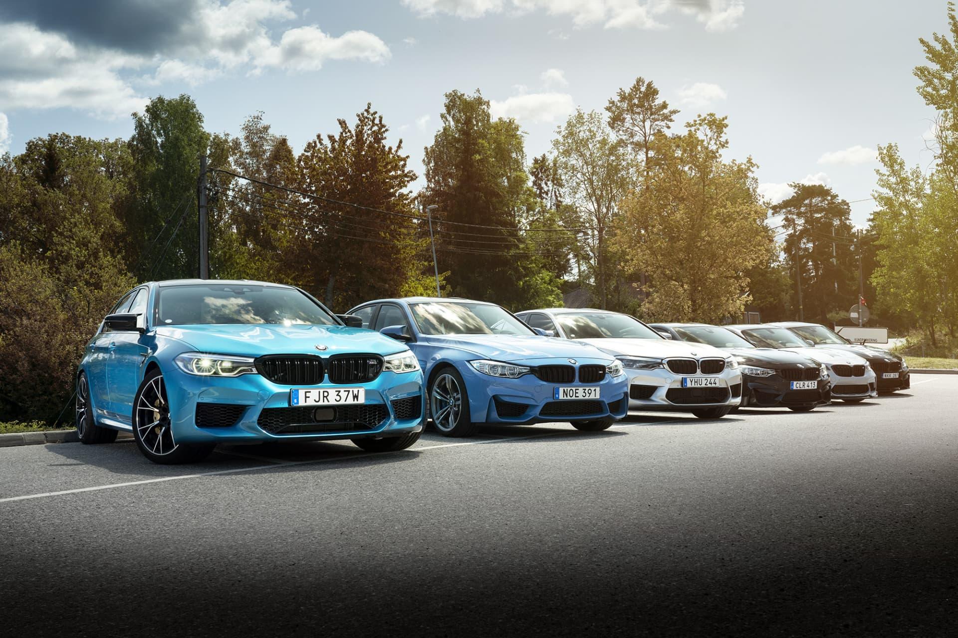 Den trevliga BMW M-bil klubben RSR (Ready Steady Run) bjöd på en härlig kördag på de slingriga vägarna öster om Stockholm.