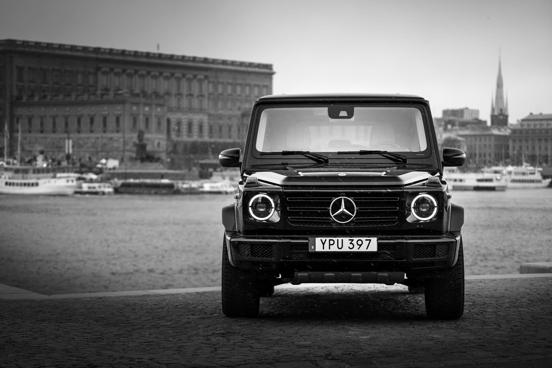 Med sin stjärna i grillen inger G Klass en pondus som få andra bilar.