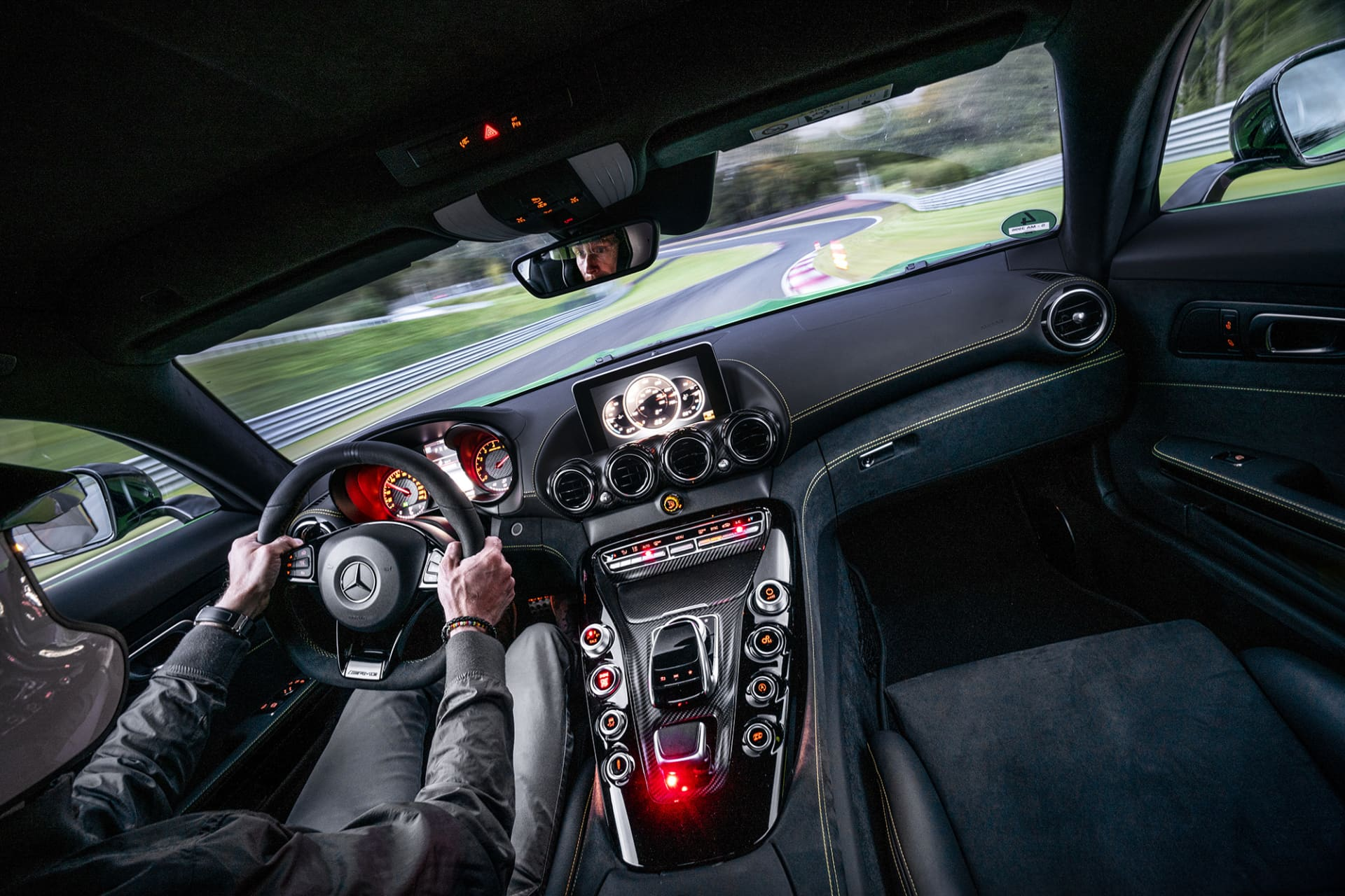 The Bilster Mountain course is incredibly challenging but also great fun.With an instructor in front that shows track selection and braking points, it becomes even more fun.