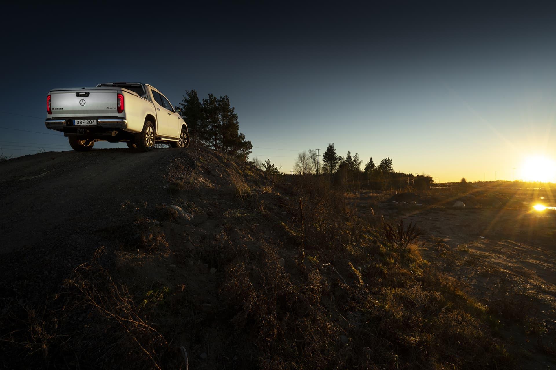 Tots sitt släckte med Nissan Navara känns Mercedes X-Klass nu fulländad tack vare den nya kraftfullaV6-dieseln.
