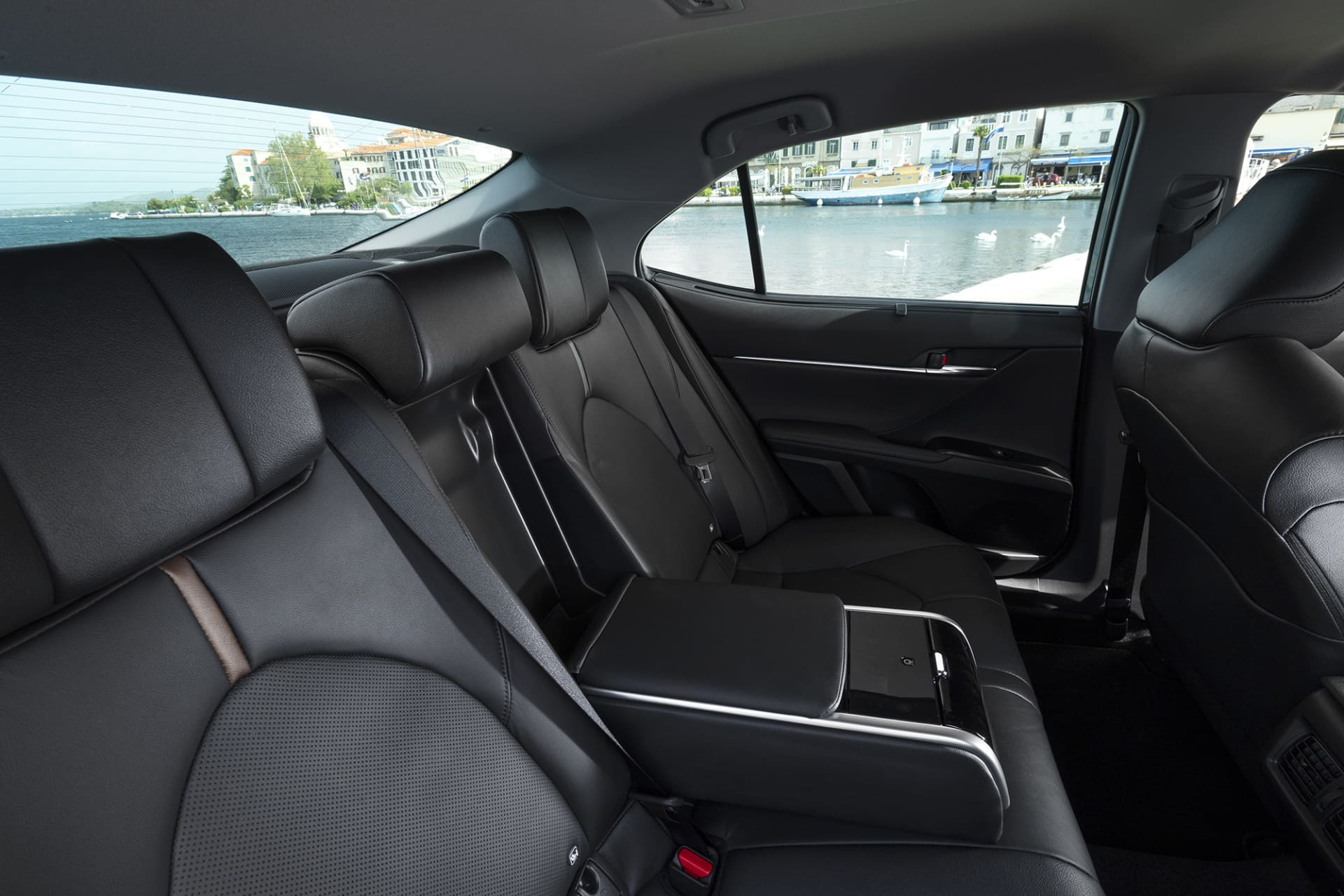 You are seated incredibly well in the back seat of the new Camry and this should be a much-appreciated model for the taxi industry.