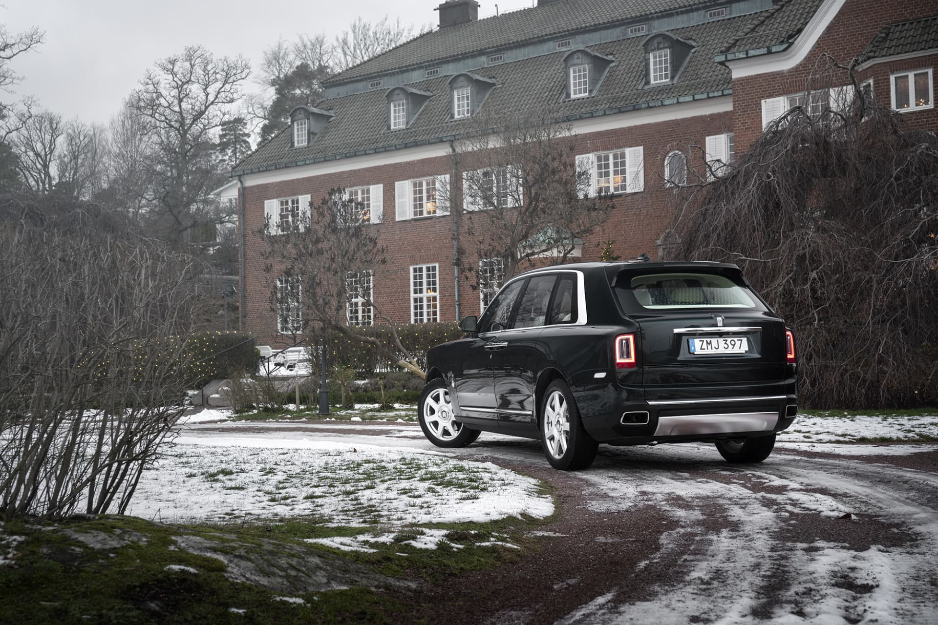 """Despite its size and design, you can't call the Cullinan an SUV. In """"Rolls-speak"""", it is called an """"off-road capable Rolls-Royce."""