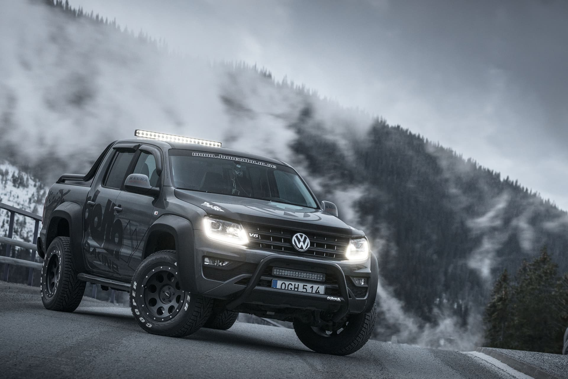 The third Amarok with the new V6 engine was a success and received a rugged look.