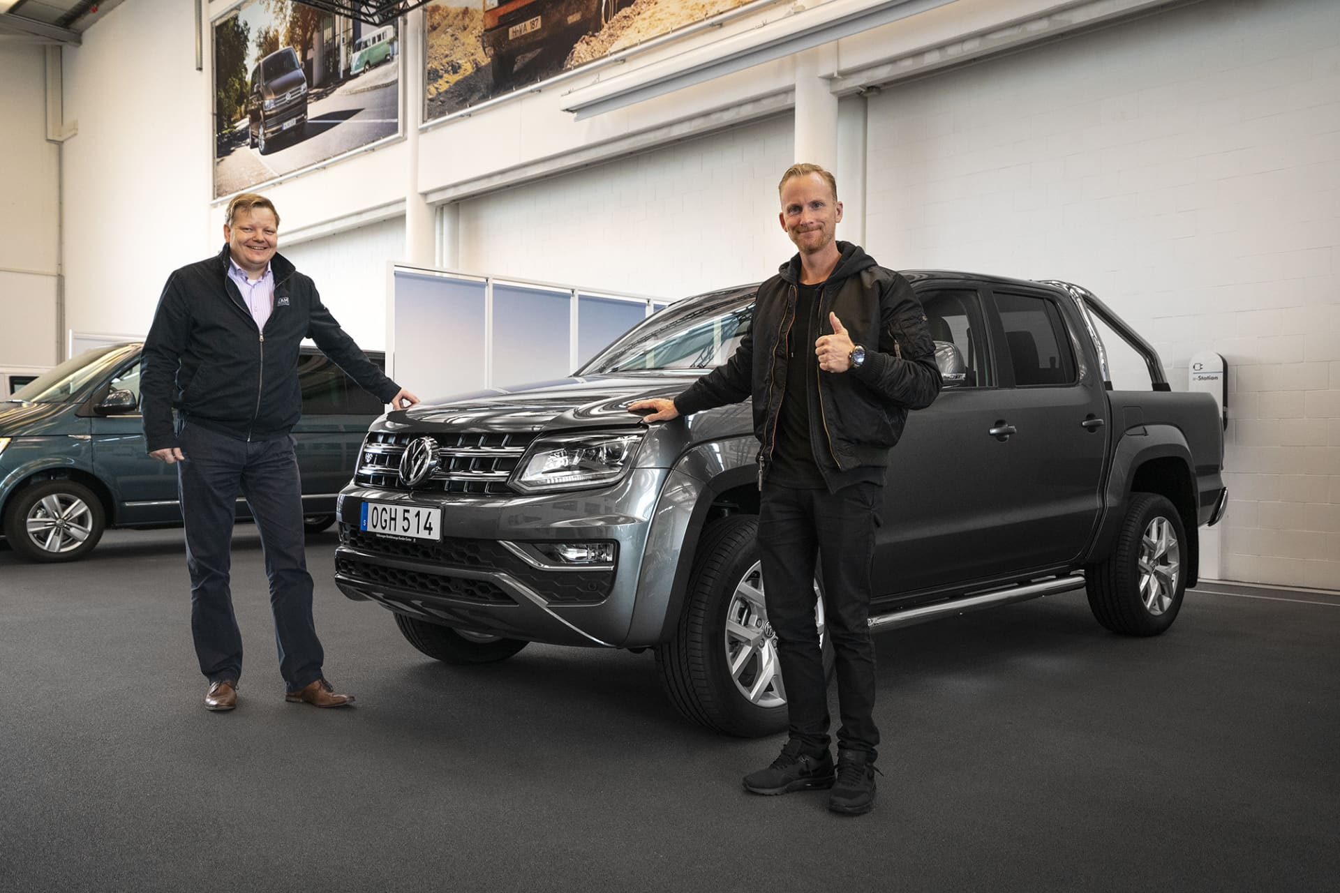 As the first Swedish customer, I picked up my Amarok V6 at the factory in Hannover. In addition, I was among the first Swedish customers to get the Amarok V6 delivered.