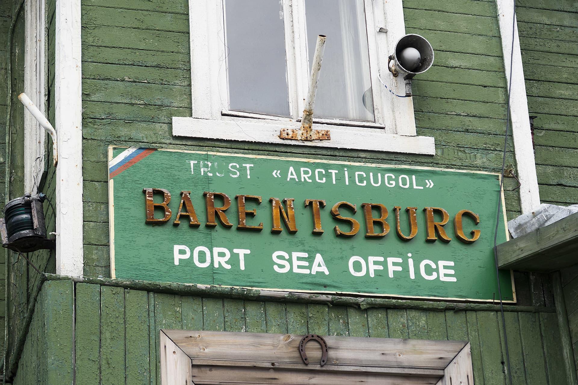 Barentsburg är en av få byar på Svalbard.
