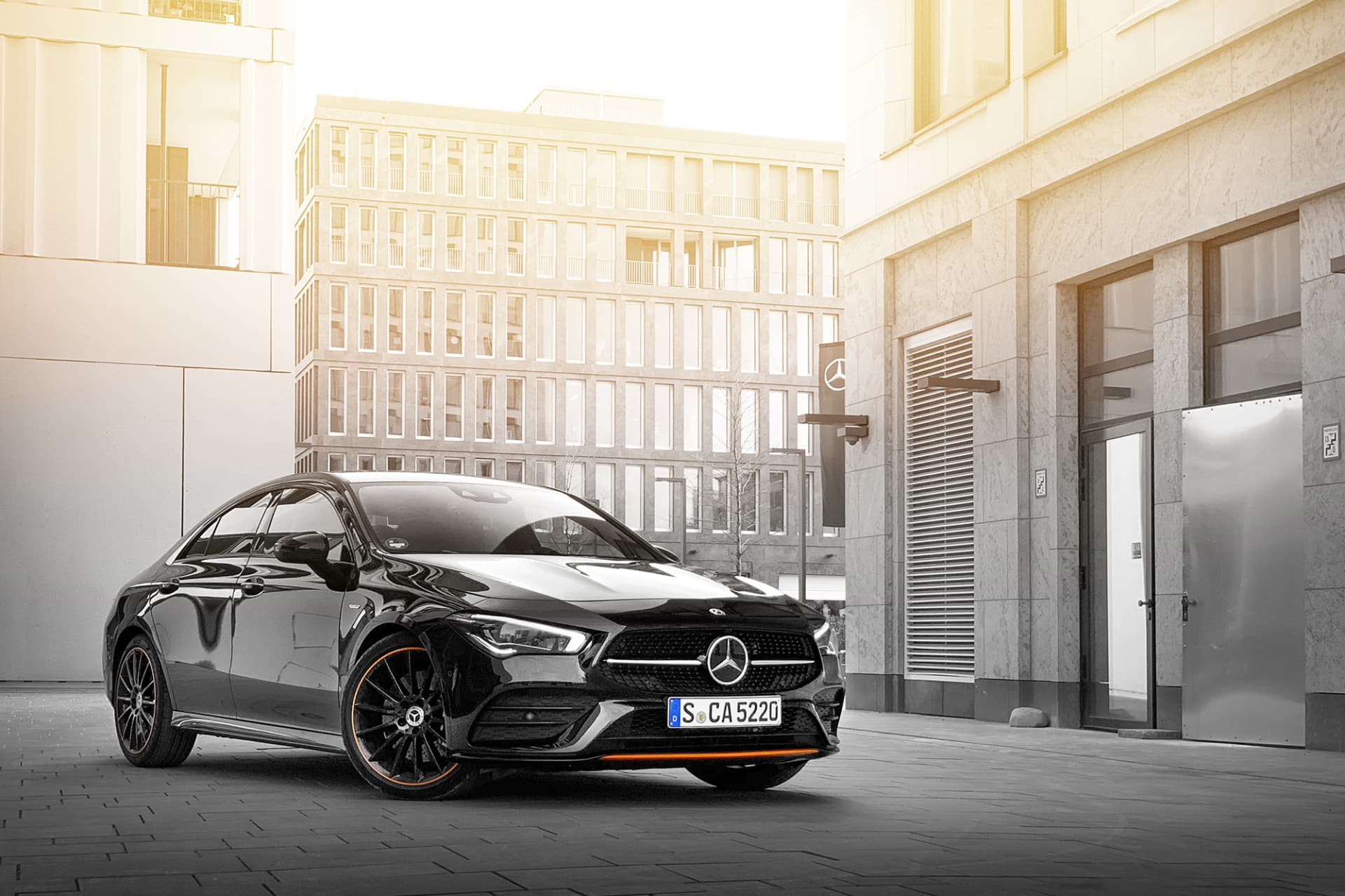 The new Mercedes CLA feels more mature and flawless than its predecessor. The shapes have been refined and the technology is fine-tuned.