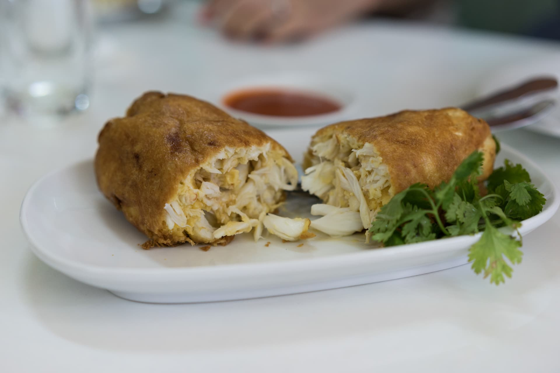 The 1000 Thai Baht deep-fried crab omelet