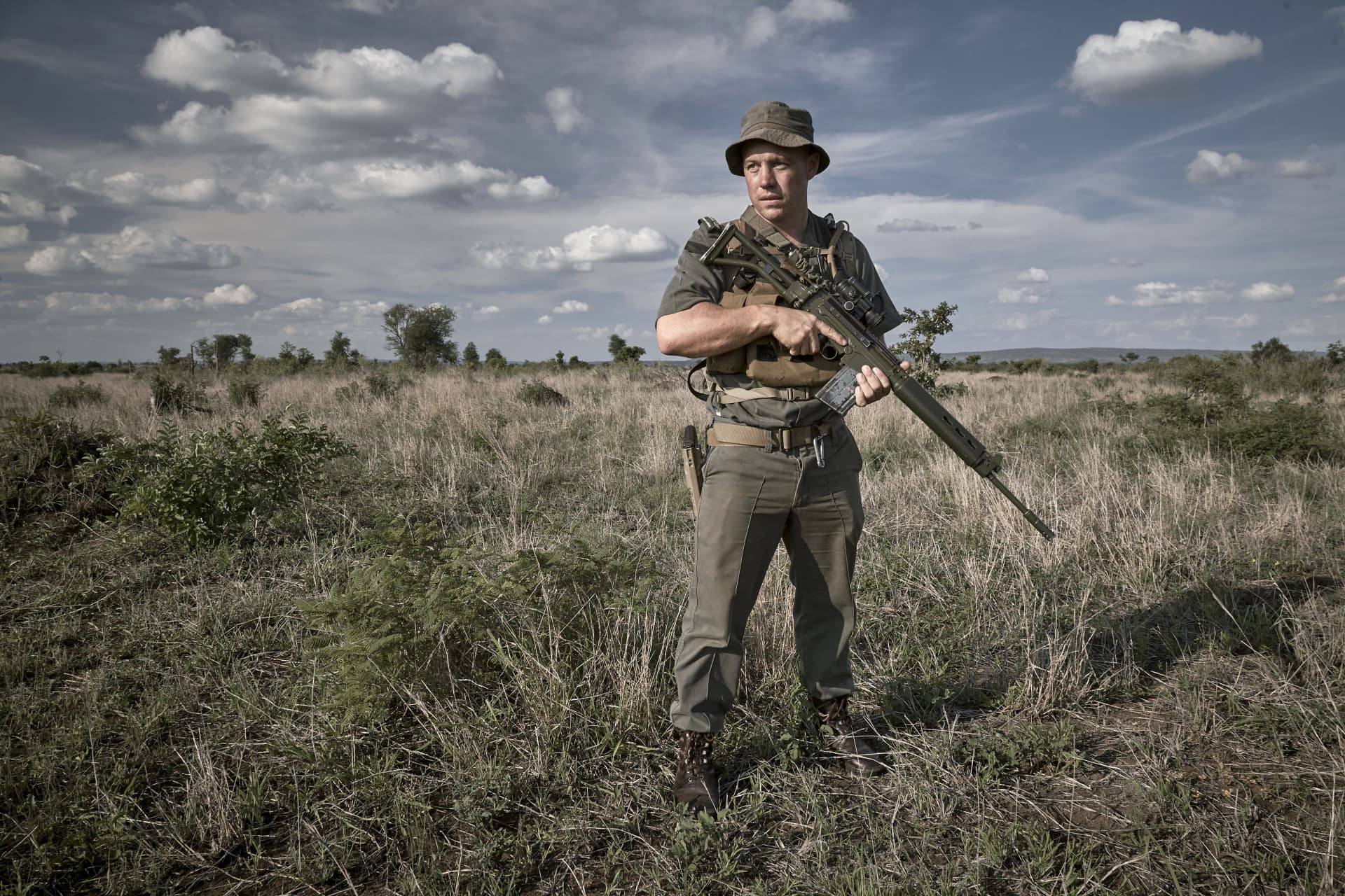 Section ranger - one of 22 section rangers in the park with each section extending to more than 850 square kilometers.