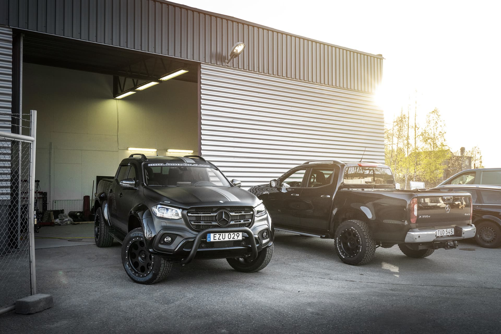 From a standard X-Class to something completely different, and incredibly cool in my opinion. That's the result you get when you work with the right people and products.