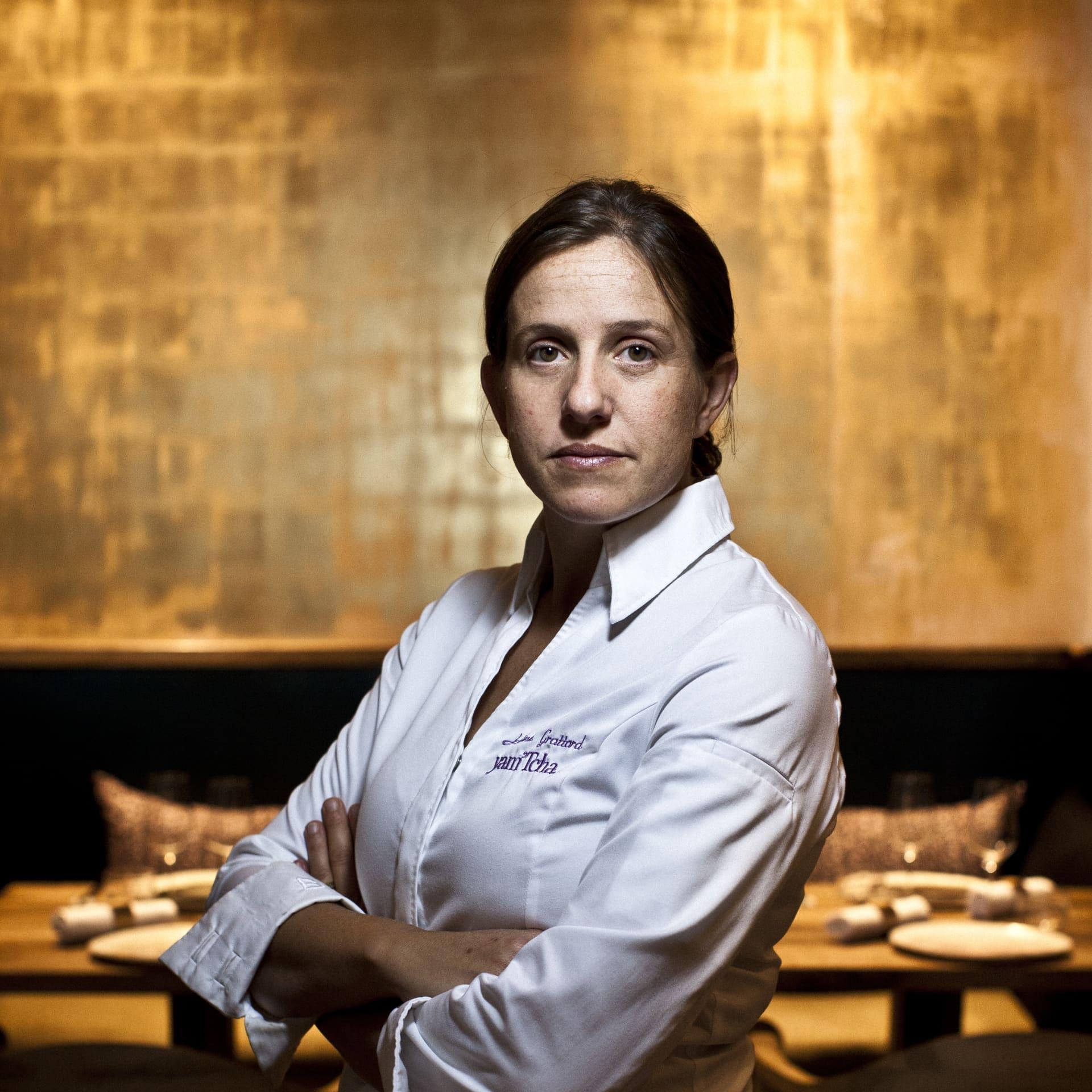 Chef Adeline Grattard.